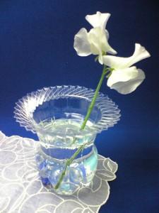 Megaportail, recyclage d'une bouteille en plastique en vase