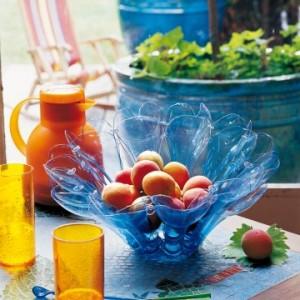 LARA, l'atelier de recyclage artistique, corbeille à fruits
