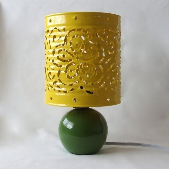 DIY - Lampe de chevet en boîte de conserve recyclée