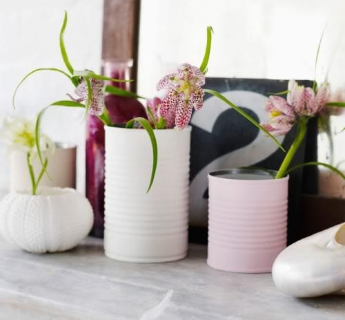 DIY - Un vase en boîte de conserve recyclé