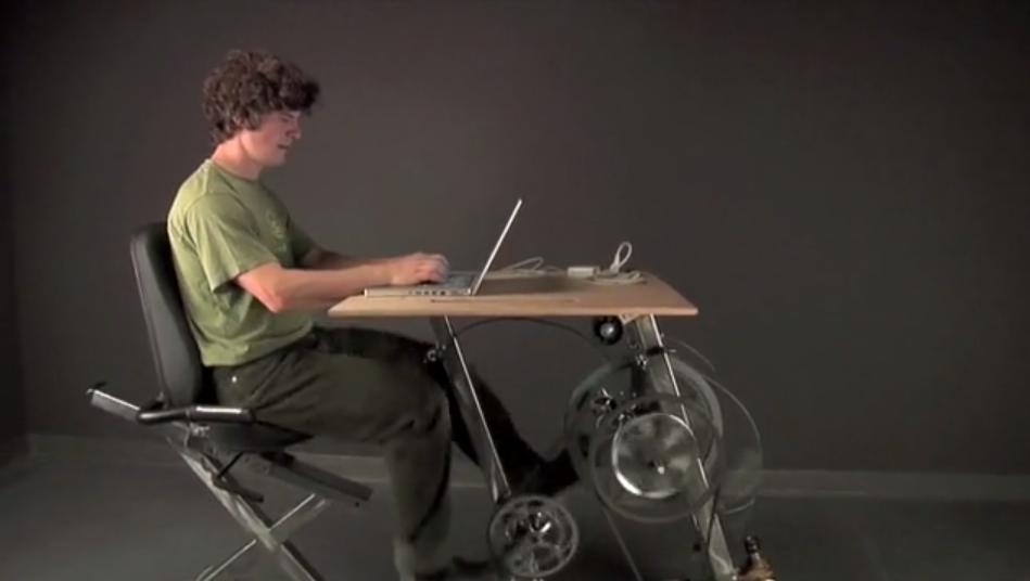 Pedal Power, générer de l'énergie en pédalant