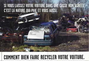 ADEME recycler votre voiture