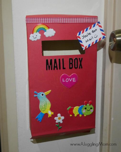 Boîte aux lettres céréales