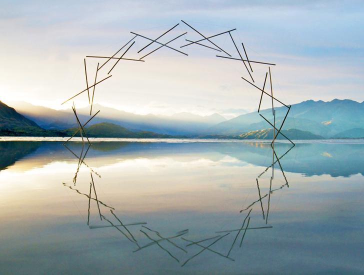 De la nature àl'art, il n'y aqu'un pas : le land art