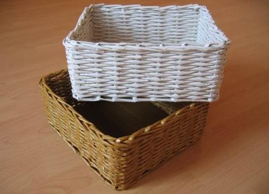 Basket Weaving O Que é : Mani?res de recycler des journaux ecoloquest