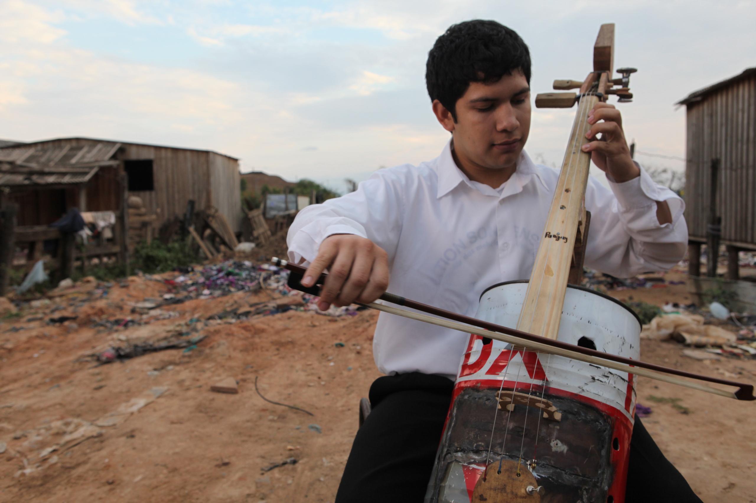 Orchestre recyclé de Cateura