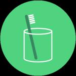 Ecogeste #17 Utiliser un verre pour se brosser les dents