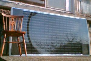 Panneaux solaires canettes