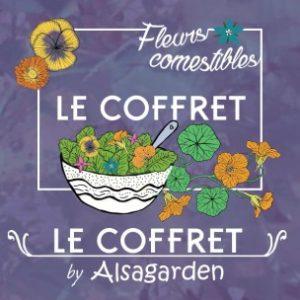 Coffret fleurs comestibles Alsagarden