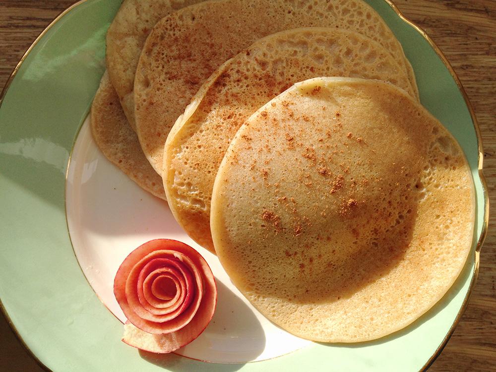 Pancakes d'automne, vegan et locaux !