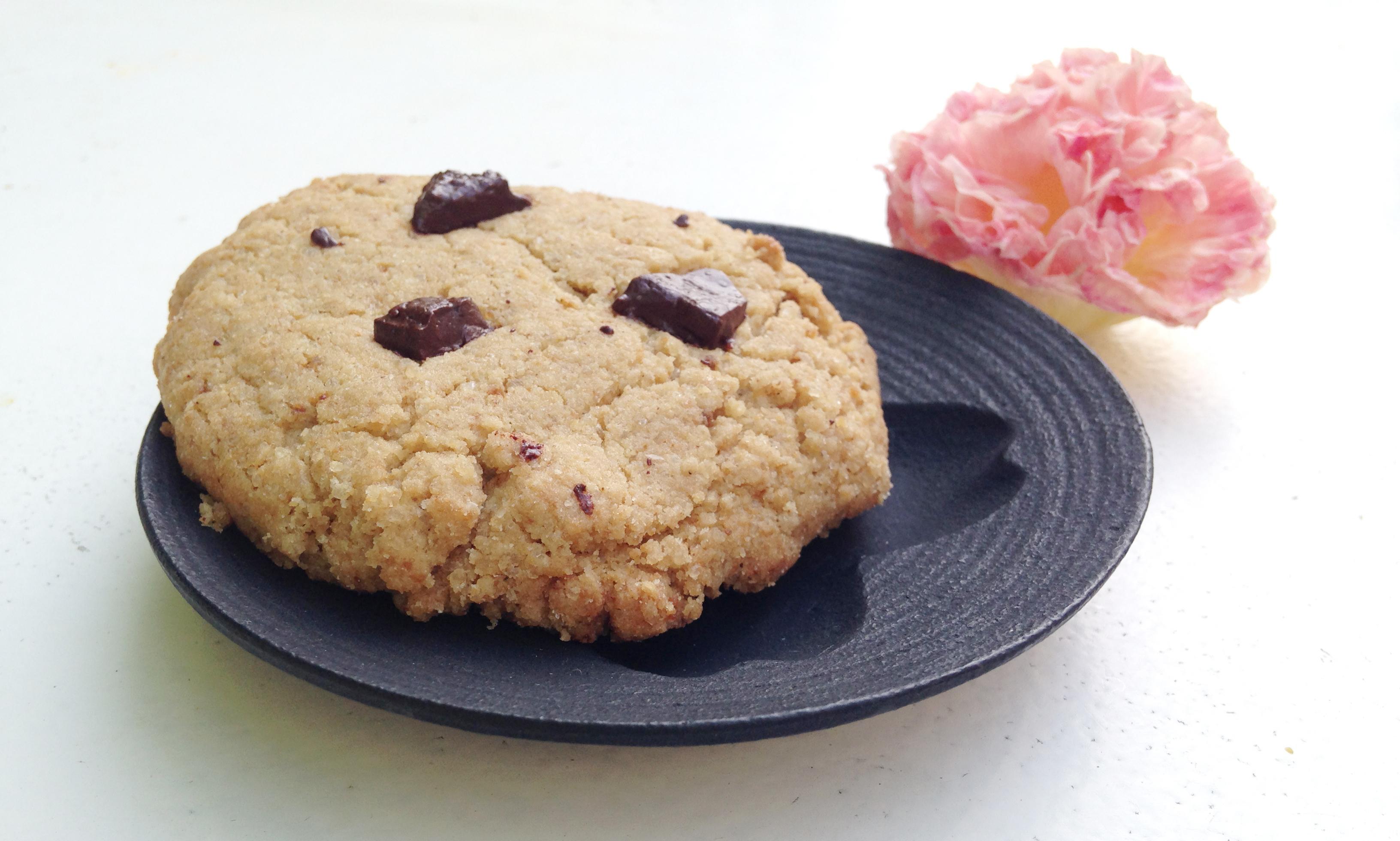 Cookie sésame chocolat vegan sans gluten