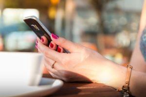 smartphone et distractions